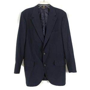 Brooks Brothers 346 Navy Blue Blazer Suit Jacket